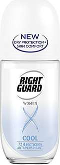 Right Guard Women Xtreme Cool Anti-Perspirant Roll-On 50ml Pack of 6 £3.97 (Add-On) Amazon.co.uk
