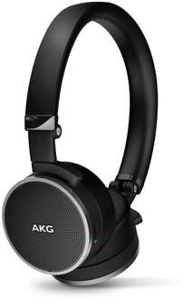 AKG N60NC Foldable Active Noise Cancelling On-Ear Headphones with Carry Case - Black - Amazon - £139.97