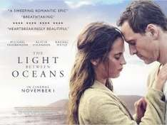 THE LIGHT BETWEEN OCEANS-FREE SHOWING MONDAY 24th OCTOBER 2016 -SHOW FILM FIRST