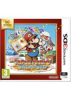 Paper Mario Sticker Star Selects (3DS) £11.99 Delivered @ Base