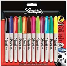 Reduced Sharpie Fine Markers Asstd Colours 4pk £2.00,  12pk £4.50 , 24pk ( electro pop) £7.50 @ Wilko
