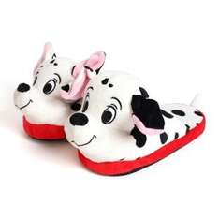 stompeez black & white dalmatian slippers at argos was £12.99 now £4.99