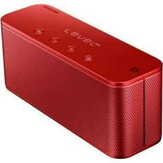 Samsung Original Level Box Slim Bluetooth NFC Pairing Audio Speaker Compatible with all Bluetooth Enabled Devices such as iPhone, Smartphone and Tablets - Red £34.94 Amazon