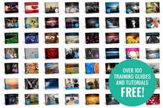 100 free photography guides and tutorials