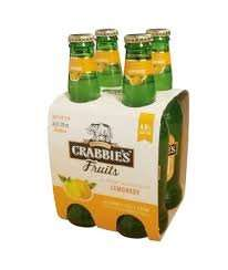 Crabbie's Alcoholic Cloudy Lemonade 4 x 330ml bottles for £1.99 at Home Bargains