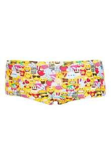Topshop smiley print boypants. Was £4 now 3 for £1
