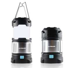 Expower Premium IPX5 Ultra Bright Portable Camping Lantern USB Lamp with Built-in Rechargeable 4400mAh Power Bank £14.99 / £18.98 non prime Sold by Smart techonology and Fulfilled by Amazon