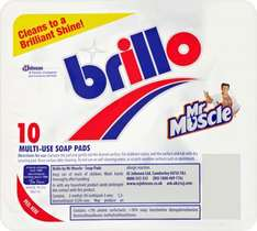 Brillo with Mr Muscle Multi-Use Soap Pads was £1.40. now 97p (Rollback Deal) @ Asda