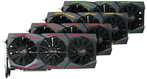 ASUS ROG Strix GeForce GTX 1070 8 GB GDDR5 Graphics Card - Black - used £435.16 @ Amazon *Used*