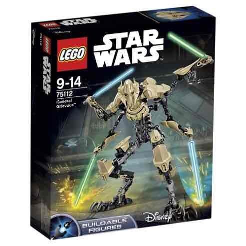 Lego Star Wars General Grievous £7.50 @ Tesco - Lunsford park