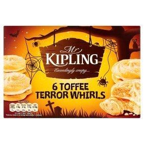 Mr Kipling Toffee Terror Whirls 6 per pack ONLY £1.00 @ Morrisons