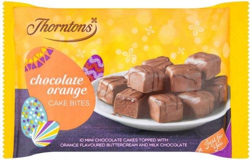 Thorntons Chocolate Orange Cake Bites 10 Pack ONLY £1.00 @ Tesco
