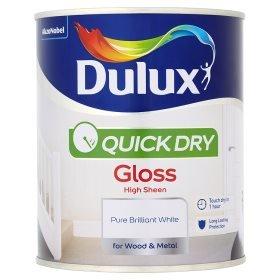 Dulux 750ml quick dry paint £7.00 @ Asda