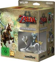 The Legend of Zelda: Twilight Princess HD Wii U + Wolf Link amiibo £24.99 @ HMV (Instore)