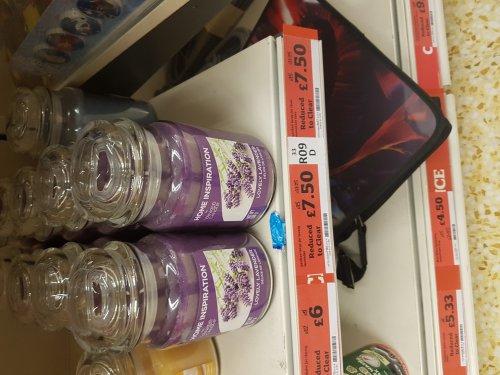 Yankee candles medium and tumbler £6 large jar £7.50 @ Sainsbury's