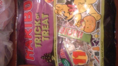 Farmfoods, Haribo trick or treat 11 mini bags (200g) for 39p BARGAIN