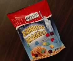 Rainbow Dragees (Peanut Butter M&Ms) 200g - 99p (Lidl)