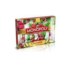 Monopoly Christmas Edition Board Game for £18.98 (37% Off) + £1.99 Postage Groupon