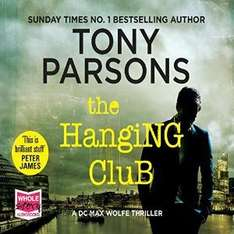 Audible DOTD, Tony Parsons - The Hanging Club audio book £1.99