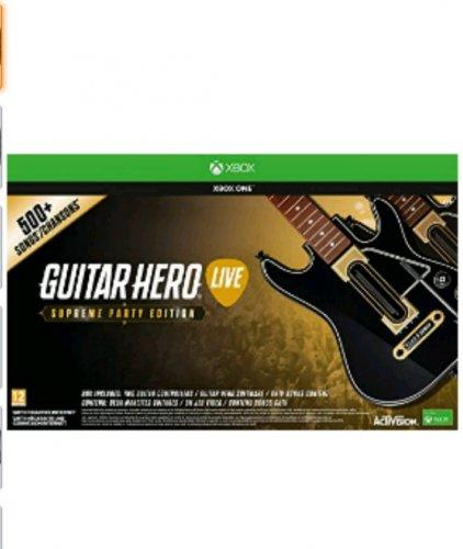 guitar hero live supreme party edition xbox one/ps4 £37.99 prime £39.99 non prime at Amazon