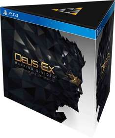 Deus Ex: Mankind Divided Collector's Edition (PS4 + Xbox One) £69.99 @ GAME