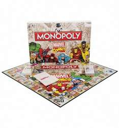 Monopoly Marvel Comics £14.99 @ B&M