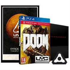 DOOM With Only At GAME UAC Pack (PS4/XO/PC) £17.99 Delivered (Using Code) @ GAME