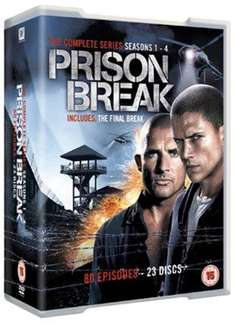 Prison Break: Complete Seasons 1-4 £12.96 @musicmagpie