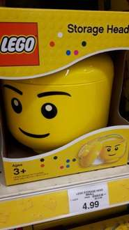 Lego Storage Head Small - Toys R Us £4.99 Harlow store