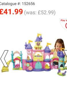Toot toot kingdom princess palace £41.99 with free delivery at smyths