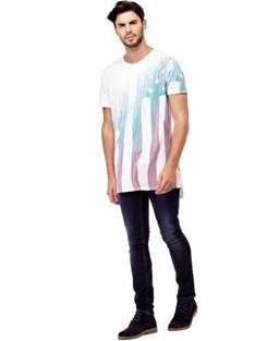 Guess men's sale t-shirts 50% off and free delivery starting from £9.50 @ Guess