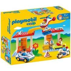 Playmobil 123 Police and Ambulance Playset £20 RRP £59.99 @ Argos