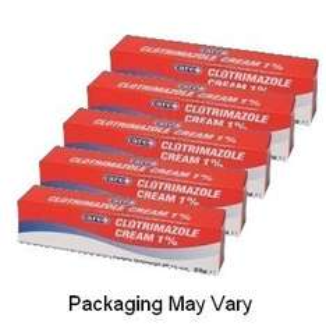 Clotrimazole Cream 1% (Canesten) 20g x 5 tubes £5.49 @PharmacyFirst