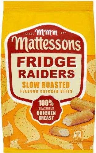 Mattessons Fridge Raiders Roast Chicken Bites (60g) was £1.00 now Only 65p @ Sainsbury's