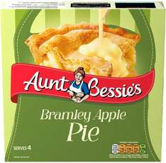 Aunt Bessie's Bramley Apple Pie Family Size (550g) was £1.47 now £1.00 @ Morrisons & Iceland
