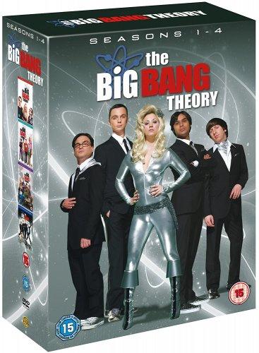 [Used] The Big Bang Theory: Seasons 1-4 DVD £1.59 [Using Code] @ Music Magpie