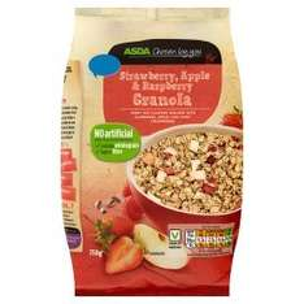 ASDA - Highbridge - Strawberry, Apple & Raspberry granola 750g 50p