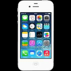 Apple iPhone 4 in white or black 8GB Like New £39.99 NO TOP UP NEEDED @ o2