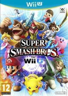 Wii U - Super Smash Bros £22.07/Mario Kart 8 £19.19 With code (Pre-owned) @ Music Magpie