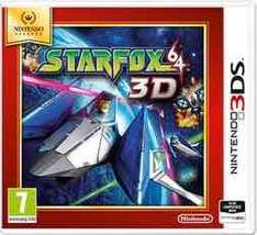 star fox 64 3D nintendo selects (3DS) £11.99 @ GAME