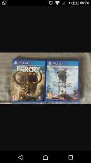 Far Cry Primal £15 & Star Wars Battlefront £10 @ Asda new and sealed
