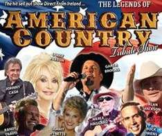 Country Music Tribute Night Live Concert Show Preston Guild Hall Mon 24th £1 Dolly Parton etc