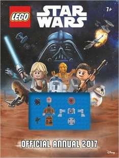 The Official Lego® Star Wars Annual 2017 £3.49 delivered (PRIME or £2.99 non-Prime) @ AMAZON