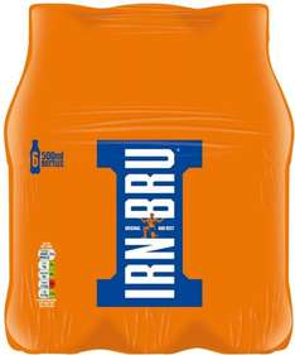 6x500ml Irn Bru £2.50 or 2 packs for £4 Multipack @ farmfoods