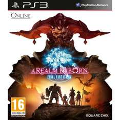 Final Fantasy XIV - A Realm Reborn (PS3) £2.30 prime  / £4.29 non prime @ Amazon