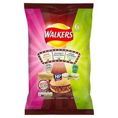 6 Pack Walkers Sarnie Crisps - 20p @ Sainsburys, Ilford