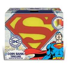 Superman Coin Bank £4 at Wilko