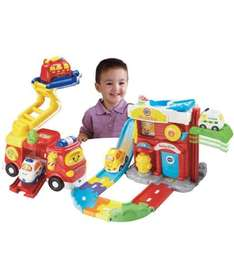 v tech toot toot fire station with fire engine - £19.99 @ Argos (free C&C)