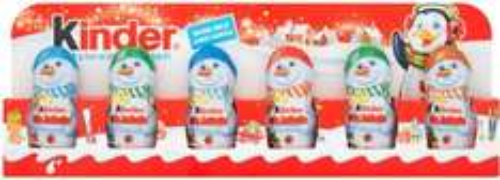 Kinder Snowmen Figures 6 x 15g ONLY £1.50 @ Wilko