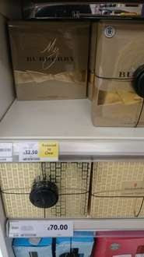 My Burberry EDP 50ML gift set (tesco instore) - £32.50